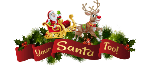 Your Santa Too Logo