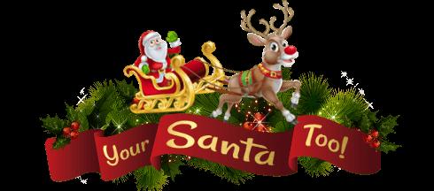 Your Santa Too Logo